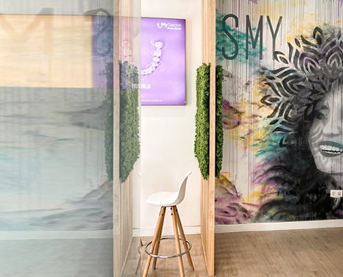 Mural SmySecret sonreir